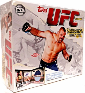 Topps UFC Ultimate Fighting Championship 2010 HOBBY Trading Card Box [16 Packs] BLOWOUT SALE!