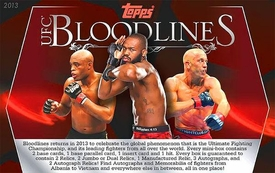 Topps UFC Ultimate Fighting Championship 2013 Bloodlines Trading Card Box