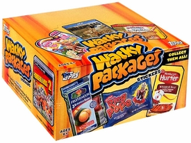 Topps Wacky Packages Series 11 Sticker Trading Card Box [24 Packs]