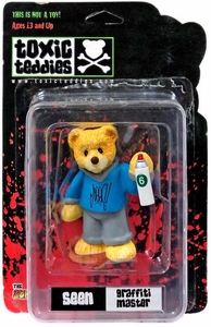 Toxic Teddies Seen Graffiti Master Blue
