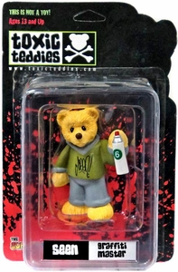 Toxic Teddies Seen Graffiti Master Green