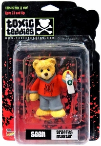 Toxic Teddies Seen Graffiti Master Orange