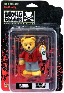 Toxic Teddies Seen Graffiti Master Red