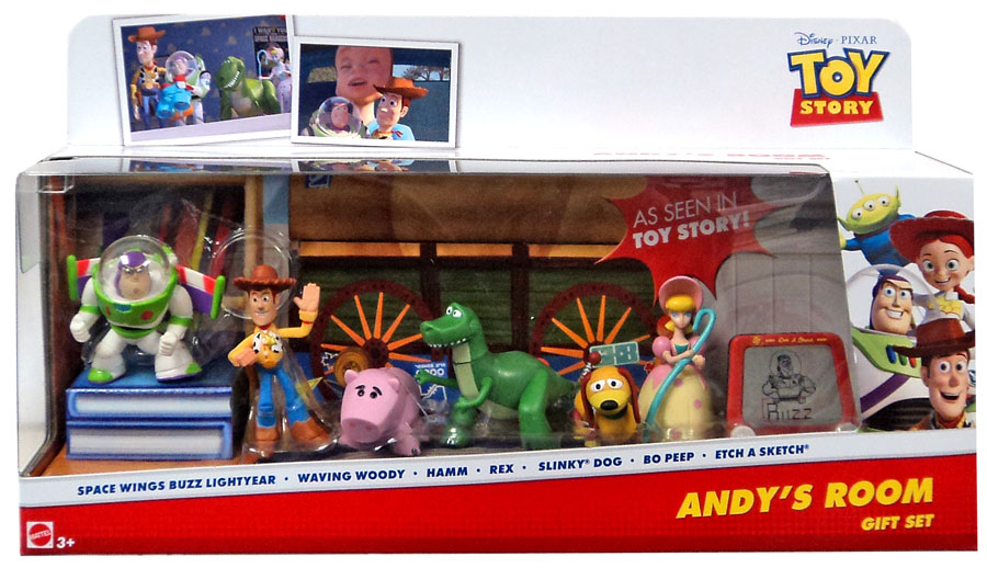 Toy Story Th Anniversary Andy S Room Buddies