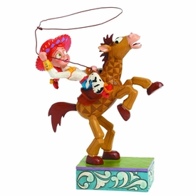 Toy Story Disney Traditions Statue Jesse & Bullseye Pre-Order ships August