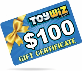 ToyWiz.com $100 Gift Certificate