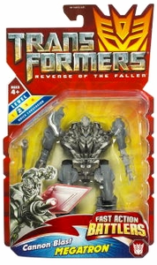 Transformers 2: Revenge of the Fallen Movie Action Figure Fast Action Battlers Cannon Blast Megatron