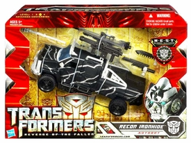 Transformers 2: Revenge of the Fallen Voyager Action Figure RECON Ironhide [Black Vehicle]