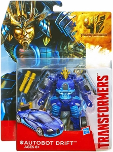 Transformers 4 Age of Extinction Deluxe Action Figure Autobot Drift New!