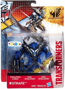 Transformers 4 Age of Extinction Evolution Action Figure 2-Pack Strafe