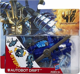 Transformers 4 Age of Extinction One Step Changer Action Figure Autobot Drift Helicopter Pre-Order ships September