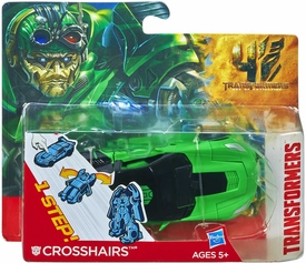 Transformers 4 Age of Extinction One Step Changer Action Figure Crosshairs New!