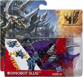 Transformers 4 Age of Extinction One Step Changer Action Figure Dinobot Slug Pre-Order ships September