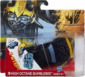 Transformers 4 Age of Extinction One Step Changer Action Figure High Octane Bumblebee New!