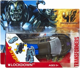 Transformers 4 Age of Extinction One Step Changer Action Figure Lockdown