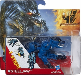 Transformers 4 Age of Extinction One Step Changer Action Figure Steeljaw Pre-Order ships September