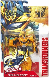 Transformers 4 Age of Extinction Power Battler Action Figure Bumblebee New!