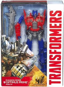 Transformers 4 Age of Extinction Voyager Action Figure Evasion Mode Optimus Prime Pre-Order ships August