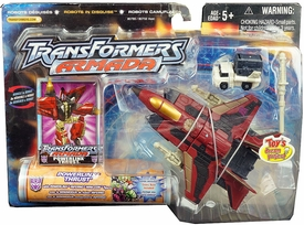 Transformers Armada EXCLUSIVE Powerlinx Thrust With Inferno Minicon Figure