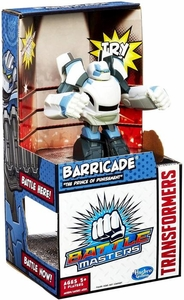 Transformers Battle Masters Barricade [The Prince of Punishment]