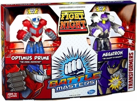 Transformers Battle Masters Fight Night 2-Pack Optimus Prime & Megatron