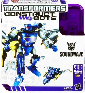 Transformers Construct-Bots Series 1 Elite Action Figure Soundwave