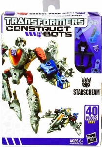 Transformers Construct-Bots Series 1 Scout Action Figure Starscream