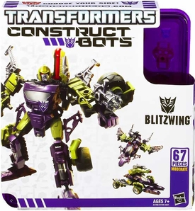 Transformers Construct-Bots Series 1 Triple Changer Action Figure Blitzwing