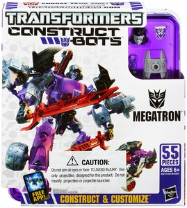 Transformers Construct-Bots Series 2 Elite Action Figure Megatron