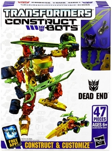 Transformers Construct-Bots Series 1 Scout Action Figure Dead End