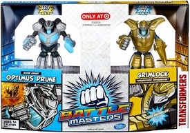 Transformers Exclusive Battle Masters 2-Pack Silver Knight Optimus Prime & Grimlock