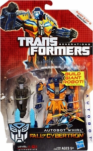Transformers Generations Deluxe Action Figure Autobot Whirl [Fall of Cybertron]
