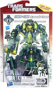 Transformers Generations Deluxe Action Figure Mini-Con Assault Team