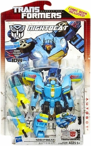Transformers Generations Deluxe Action Figure Nightbeat Pre-Order ships August