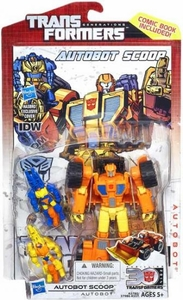 Transformers Generations Deluxe Action Figure Autobot Scoop