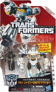 Transformers Generations Deluxe Action Figure Topspin [Fall of Cybertron]