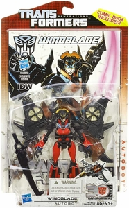 Transformers Generations Deluxe Action Figure Windblade New!