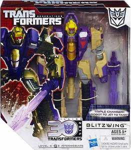 Transformers Generations Voyager Action Figure Blitzwing