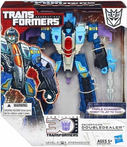 Transformers Generations Voyager Action Figure Doubledealer New!