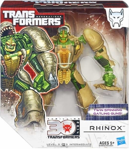 Transformers Generations Voyager Action Figure Rhinox New Hot!