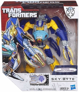 Transformers Generations Voyager Action Figure Sky Byte Pre-Order ships August