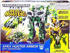 Transformers Prime Beast Hunters Cyberverse Apex Hunter Armor Suit & Breakdown