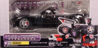 Transformers Takara Binaltech BT-11 Ravage Black Corvette Convertible