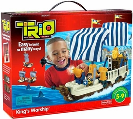 TRIO Building System Playset King's Warship