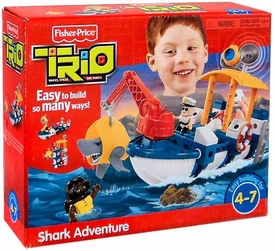 TRIO Building System Playset Shark Adventure