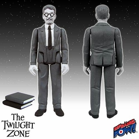 Twilight Zone 3.75 Inch Action Figure Henry Bemis Pre-Order ships August