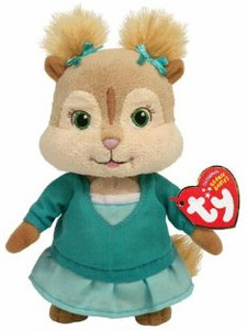 Ty Alvin & The Chipmunks Beanie Baby Eleanor