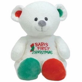 Ty Baby My Baby Bear Baby's first Christmasr