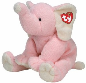 Ty Baby Soft Plush Baby Winks the Pink Elephant