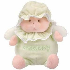 Ty Baby Soft Plush Blessings to Baby Green